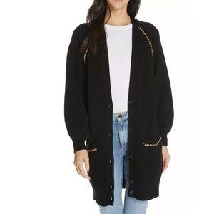 New Joie Black Oversized Marleny Cardigan
